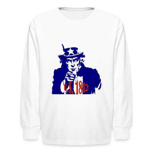 uncle-sam-1812 - Kids' Long Sleeve T-Shirt