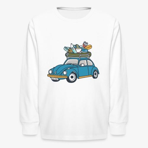 Gone Fishin' - Kids' Long Sleeve T-Shirt