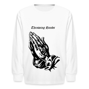 throwinghands - Kids' Long Sleeve T-Shirt