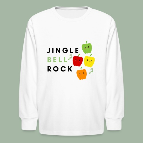 Jingle Bell Rock - Kids' Long Sleeve T-Shirt