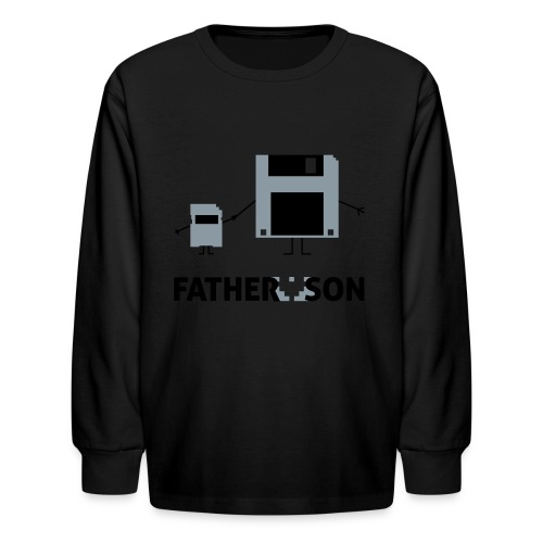 Father and Son - Kids' Long Sleeve T-Shirt