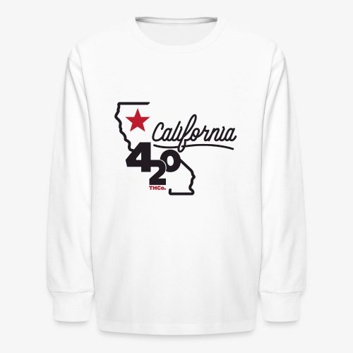 California 420 - Kids' Long Sleeve T-Shirt