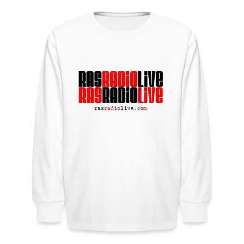 rasradiolive png - Kids' Long Sleeve T-Shirt