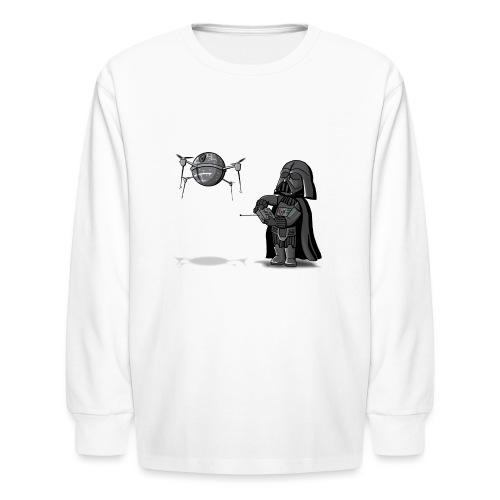Drone Vader - Kids' Long Sleeve T-Shirt
