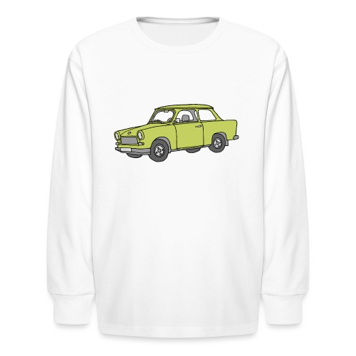 Trabant (baligreen car) - Kids' Long Sleeve T-Shirt