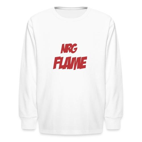 FLAME - Kids' Long Sleeve T-Shirt