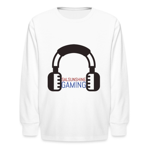 salsunshine gaming logo - Kids' Long Sleeve T-Shirt