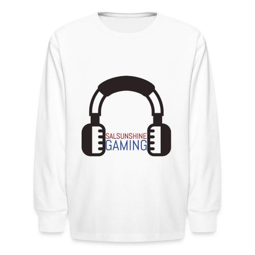 salsunshine gaming logo - Kids' Long Sleeve T-Shirt
