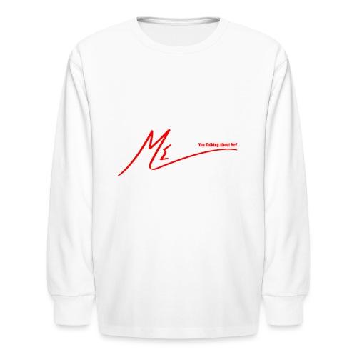 output onlinepngtools 3 - Kids' Long Sleeve T-Shirt