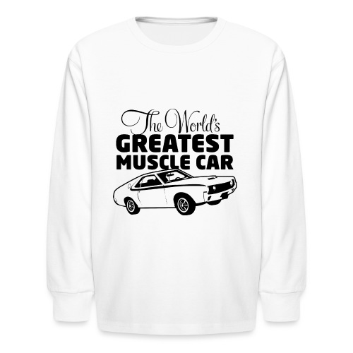 Greatest Muscle Car - Javelin - Kids' Long Sleeve T-Shirt