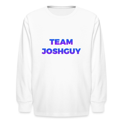 Team JoshGuy - Kids' Long Sleeve T-Shirt