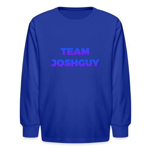 Team JoshGuy - Kids' Long Sleeve T-Shirt