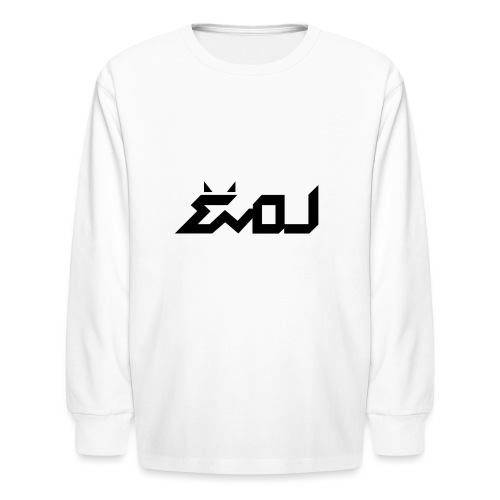 evol logo - Kids' Long Sleeve T-Shirt