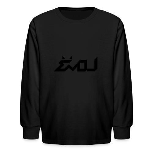 evol logo - Kids' Long Sleeve T-Shirt