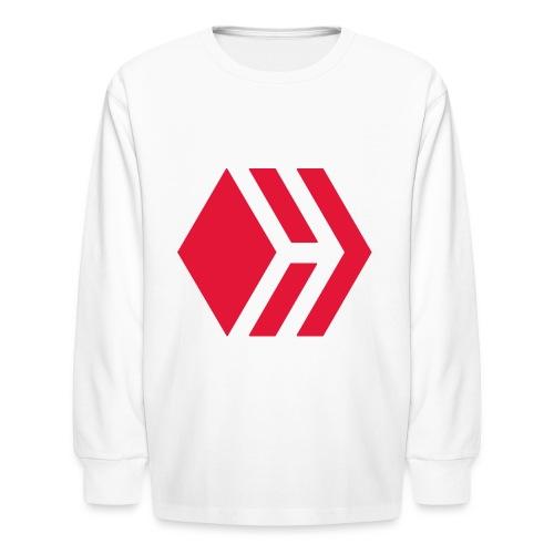 Hive logo - Kids' Long Sleeve T-Shirt