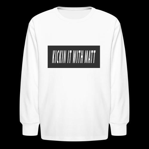Fire - Kids' Long Sleeve T-Shirt