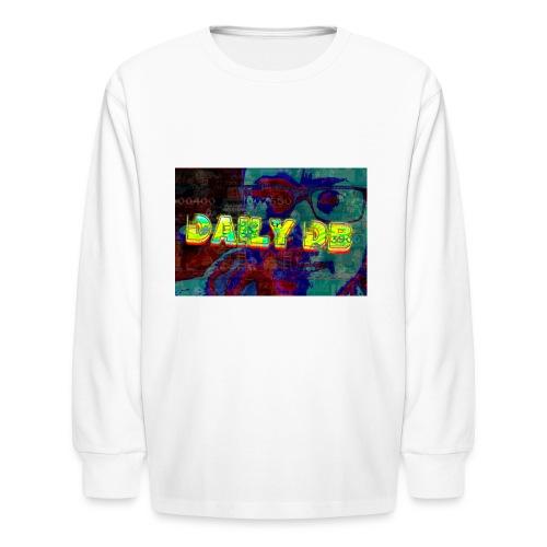daily db poster - Kids' Long Sleeve T-Shirt