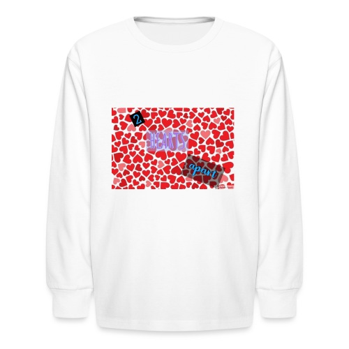 2 hearts apart - Kids' Long Sleeve T-Shirt