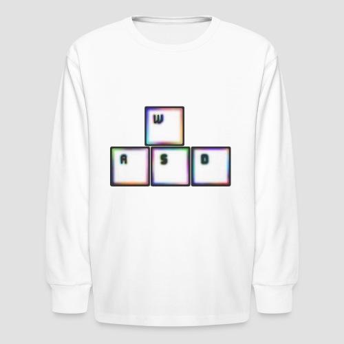WASD - Kids' Long Sleeve T-Shirt