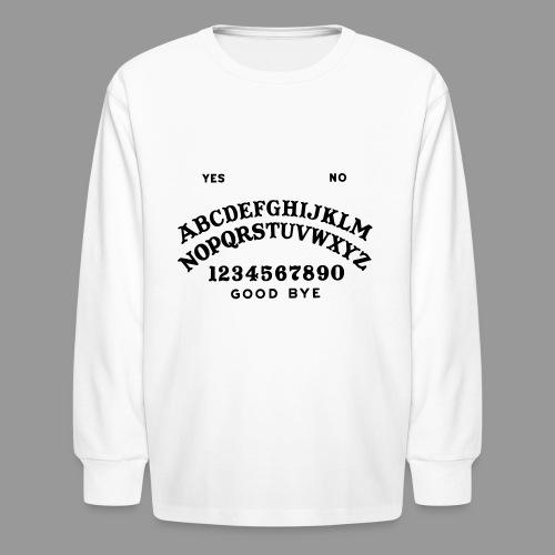 Talking Board - Kids' Long Sleeve T-Shirt