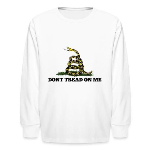 GADSDEN DONT TREAD ON ME - Kids' Long Sleeve T-Shirt