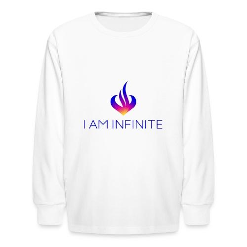 I Am Infinite - Kids' Long Sleeve T-Shirt