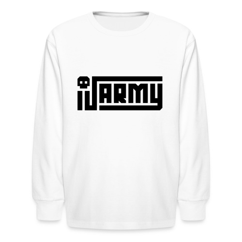 iJustine - iJ Army Logo - Kids' Long Sleeve T-Shirt