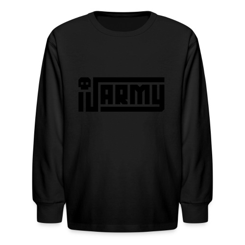 iJustine - iJ Army Logo - Kids' Long Sleeve T-Shirt