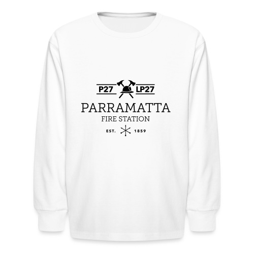 Parramatta Fire Station B - Kids' Long Sleeve T-Shirt