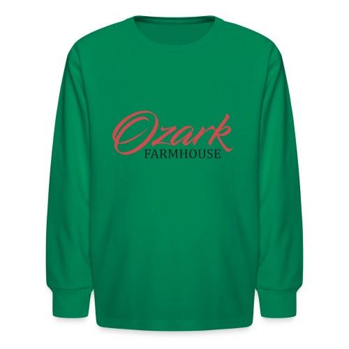Ozark Farm House - Kids' Long Sleeve T-Shirt