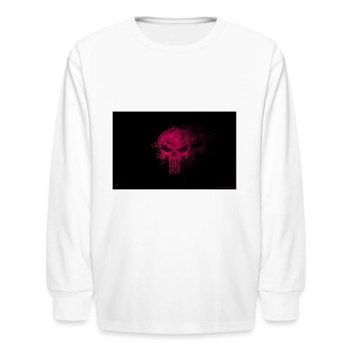 hkar.punisher - Kids' Long Sleeve T-Shirt