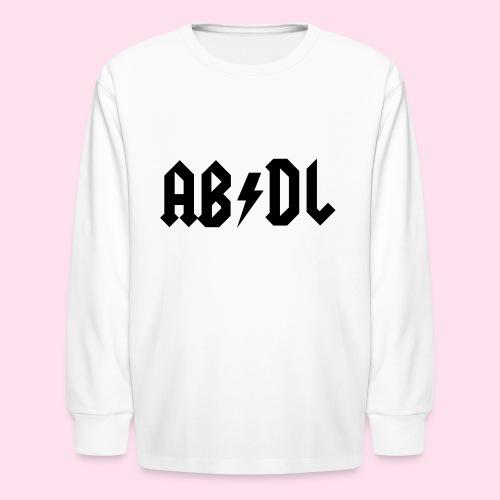 ABDL Rock - Kids' Long Sleeve T-Shirt