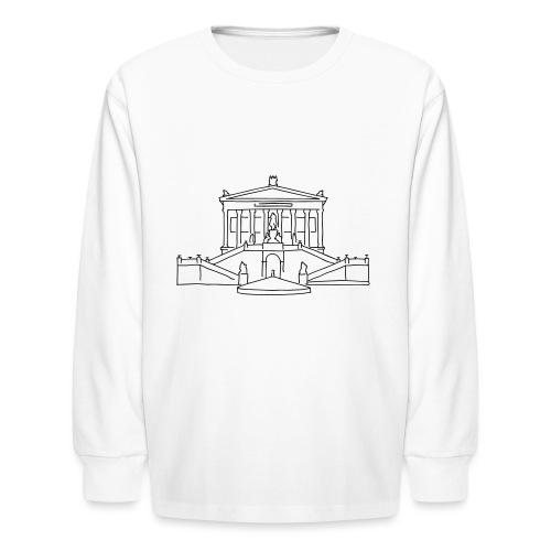 Nationalgalerie Berlin - Kids' Long Sleeve T-Shirt