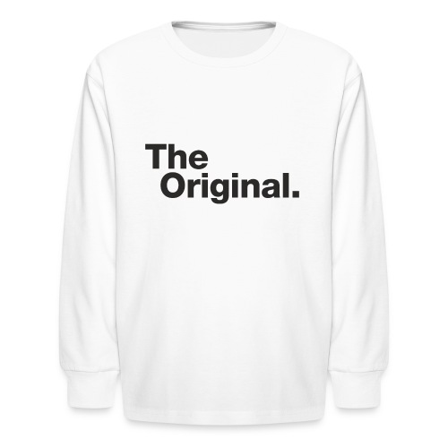 original - Kids' Long Sleeve T-Shirt