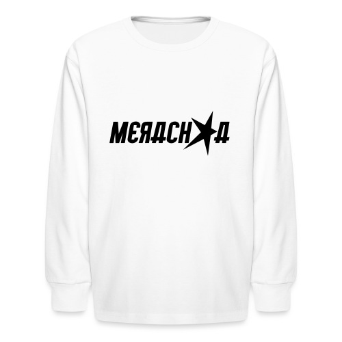 Merachka Logo - Kids' Long Sleeve T-Shirt