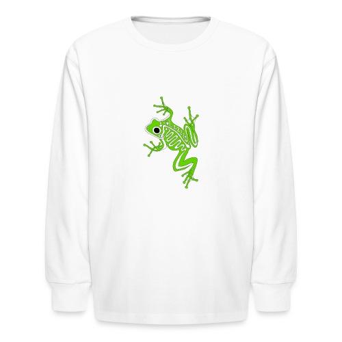 Anglo-Saxon Frog - Kids' Long Sleeve T-Shirt