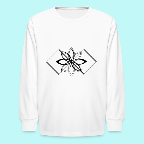 Colour Me DAIZEY Yellow - Kids' Long Sleeve T-Shirt