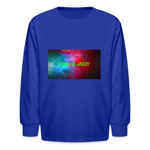 NYAH AND JAZZY - Kids' Long Sleeve T-Shirt