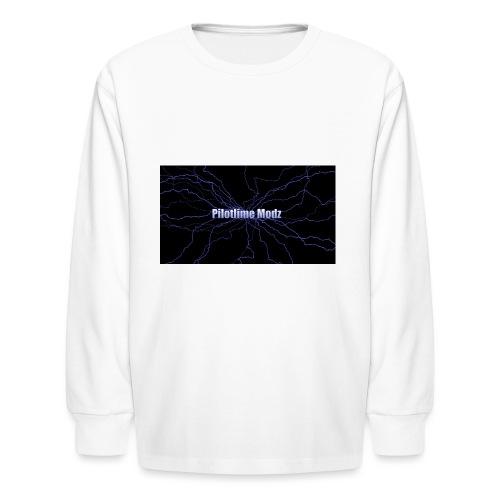backgrounder - Kids' Long Sleeve T-Shirt