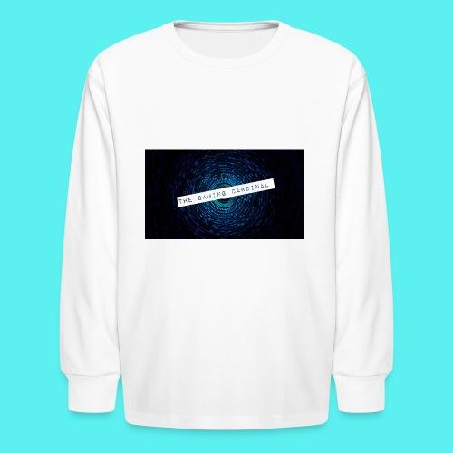 custom anner - Kids' Long Sleeve T-Shirt