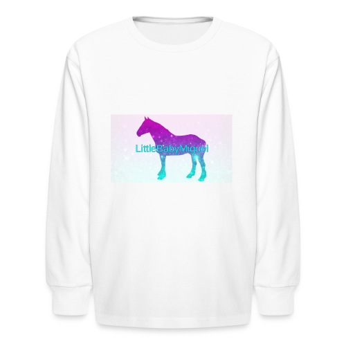 LittleBabyMiguel Products - Kids' Long Sleeve T-Shirt