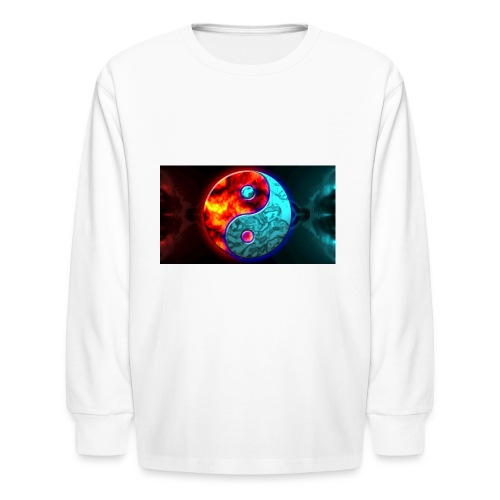 YIN N YANG - Kids' Long Sleeve T-Shirt