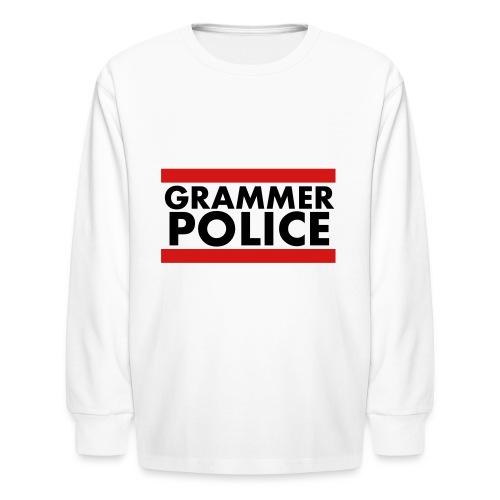 Grammer Police - Kids' Long Sleeve T-Shirt