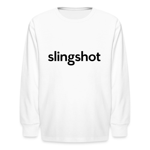 SlingShot Logo - Kids' Long Sleeve T-Shirt