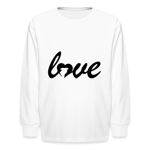 Dog Love - Kids' Long Sleeve T-Shirt
