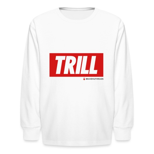 trill red iphone - Kids' Long Sleeve T-Shirt