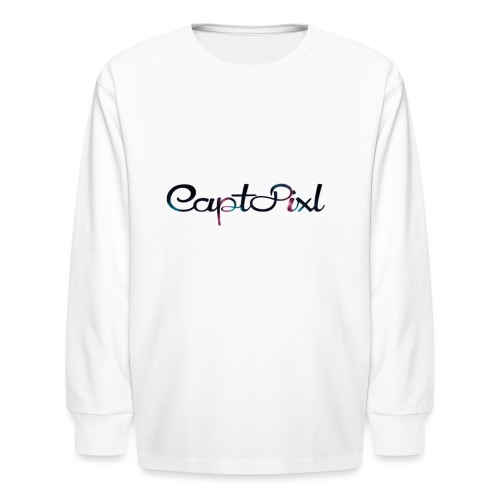 My YouTube Watermark - Kids' Long Sleeve T-Shirt