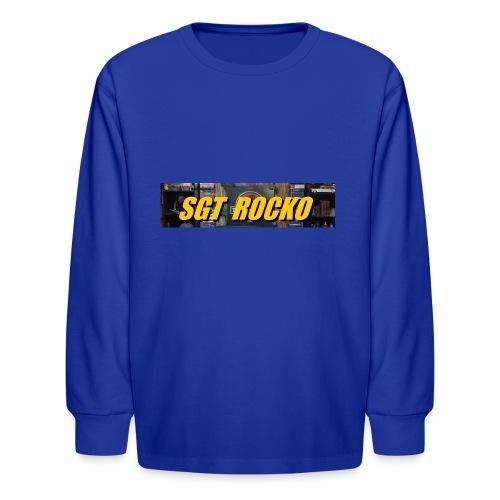RockoWear Banner - Kids' Long Sleeve T-Shirt
