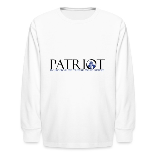 PATRIOT_SAM_USA_LOGO - Kids' Long Sleeve T-Shirt