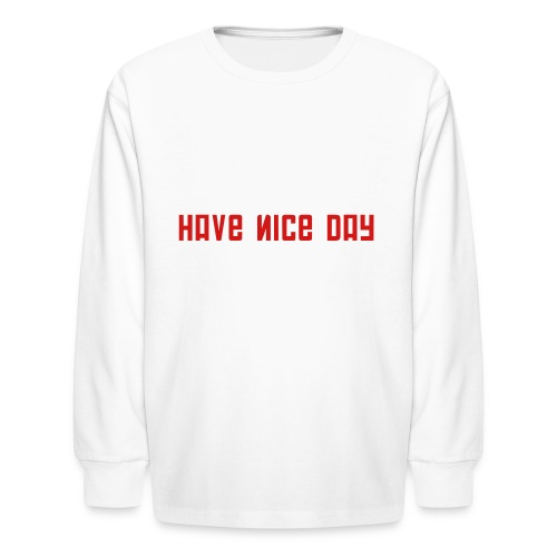FPS Russia Have Nice Day MP Long Sleeve Shirts - Kids' Long Sleeve T-Shirt